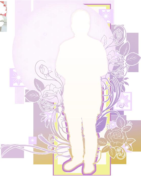 占い師【蓮衣子】のシルエット